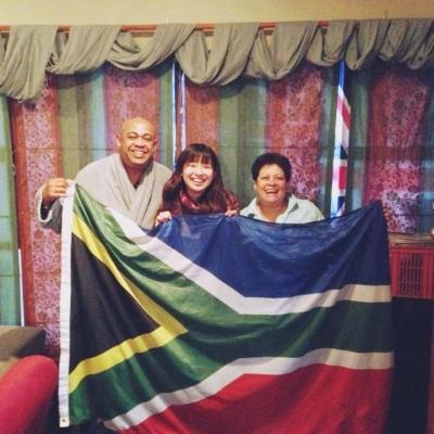 南アフリカ共和国でジャーナリズム 伴和砂